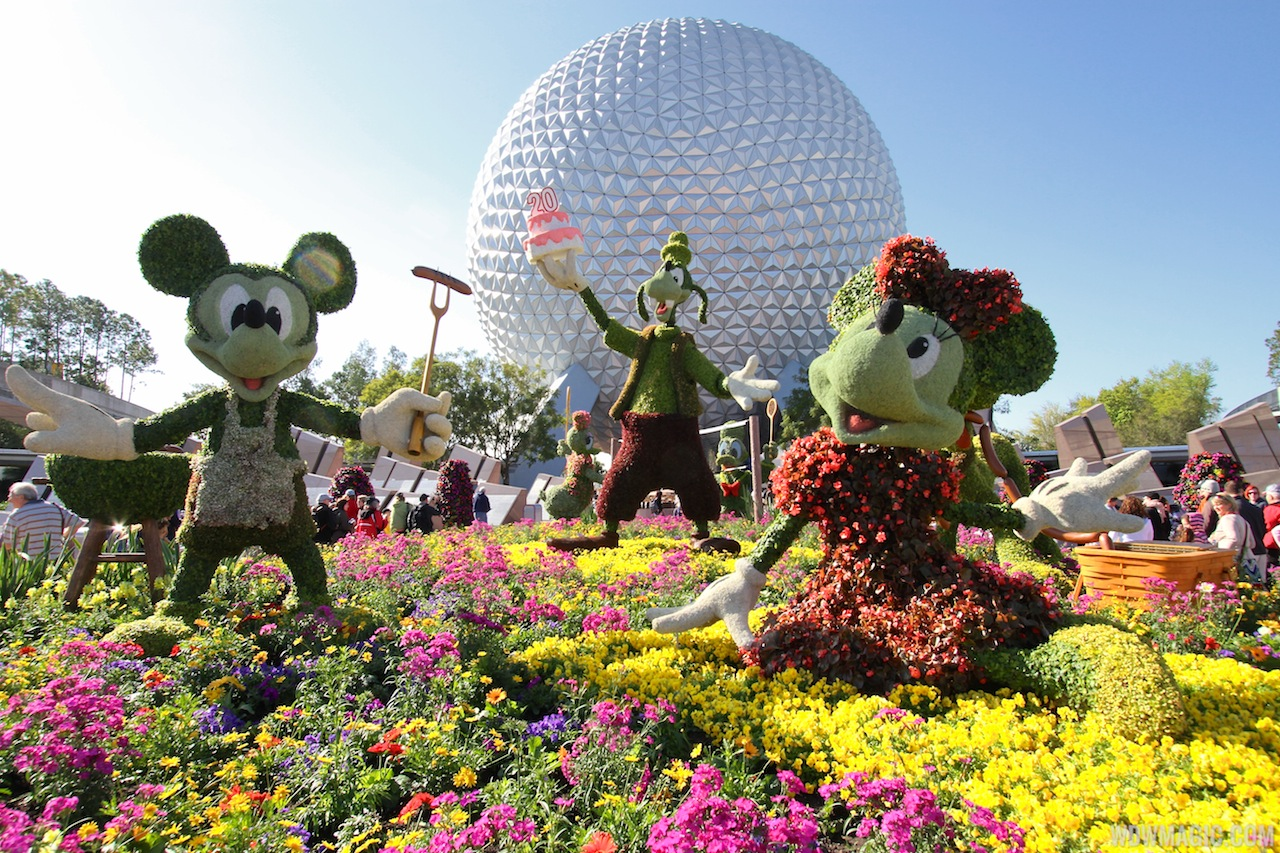 The 2015 Epcot International Flower And Garden Festival Enchanted Memories Travel