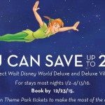 Save up to 25% at Walt Disney World® Deluxe and Deluxe Villa Resort