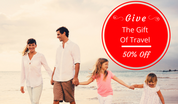 Give The Gift of Travel – 50% Off Vacation Vouchers