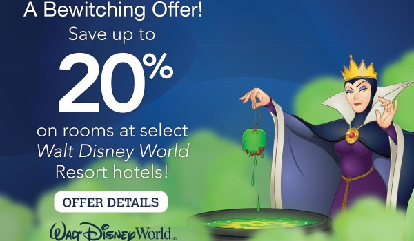 A Bewitching Offer  – Save Up To 20%
