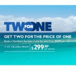 MSC Cruise Line: Caribbean Cruise 2 for 1 Starting at $299/pp