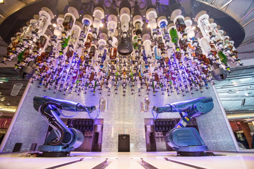 The Bionic Bar on Anthem of The Seas