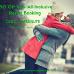 Last Minute Shoppers – $50 Off Any All Inclusive Resort Booking