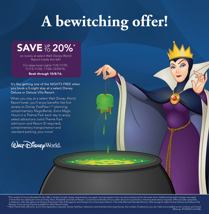 51406-RTSWDW-16 FY17 WDW Q1 Room Offer - WEB PAGE CAN ONLY - EVIL QUEEN DOM ENG 2