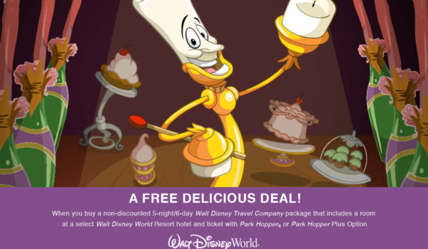 A Free Delicious Deal! Free Dining Plan When Staying At Select Resorts