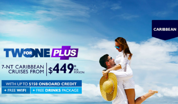 MSC Two for One PLUS – Free WiFi, Free Drinks, Free On-Board Credit